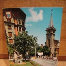 Postales: PAMPLONA , IGLESIA DE SAN IGNACIO - EDICIONES DOMINGUEZ - SIN CIRCULAR. Lote 179554718