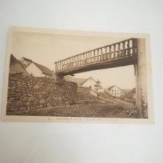 Postales: ABAURREA ALTA (NAVARRA). PASARELA TÍPICA SOBRE LA CALLE. ROISIN... Lote 182313232