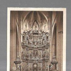 Postales: TARJETA POSTAL. VIANA. NAVARRA. ALTAR MAYOR IGLESIA DE SANTA MARIA. 95. L.ROISIN. Lote 182355626
