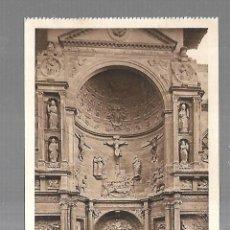 Postales: TARJETA POSTAL. VIANA. NAVARRA. PUERTA PRINCIPAL DE IGLESIA DE SANTA MARTA. 98. L.ROISIN. Lote 182355858