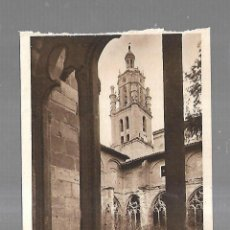 Postales: TARJETA POSTAL. LOS ARCOS. NAVARRA. UN RINCON DEL CLAUSTRO. 87. L.ROISIN. Lote 182356000