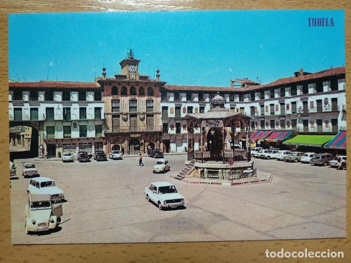 TUDELA . PLAZA DE LOS FUEROS - KIOSKO. (Postales - España - Navarra Moderna (desde 1.940))