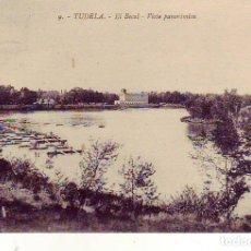 Postales: NAVARRA TUDELA - EL BOCAL VISTA PANORAMICA. Lote 182554527