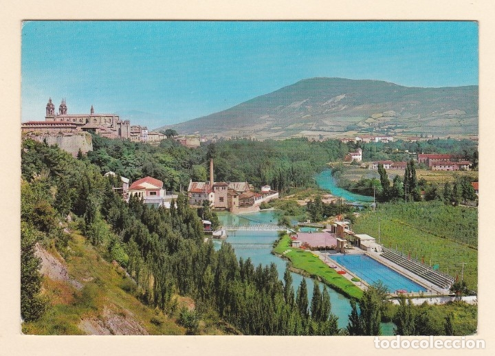POSTAL CLUB DE NATACION. PISCINA OLIMPICA. PAMPLONA (1963) (Postales - España - Navarra Moderna (desde 1.940))
