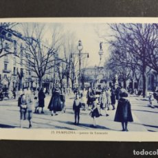Postales: PAMPLONA-PASEO DE SARASATE-23-ROISIN-POSTAL ANTIGUA-(64.078). Lote 183008096