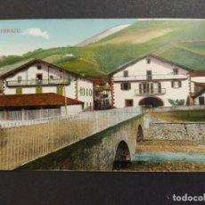 Postales: ERRAZU-PUENTE-EDICION ANTONIO ECHAIDE-POSTAL ANTIGUA-(64.082). Lote 183009316