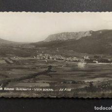 Postales: VALLE BURUNDO-OLAZAGUITA-VISTA GENERAL-ED·FICA-POSTAL ANTIGUA-(64.085). Lote 183010103