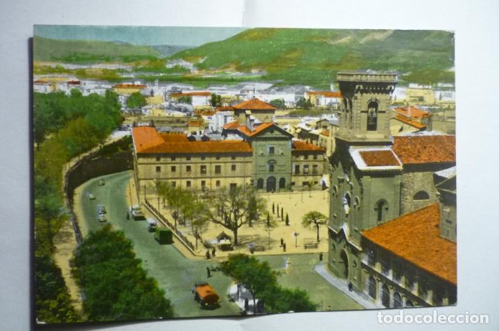 POSTAL PAMPLONA - ENTRADA CARRETERA S.SEBASTIAN CM (Postales - España - Navarra Moderna (desde 1.940))