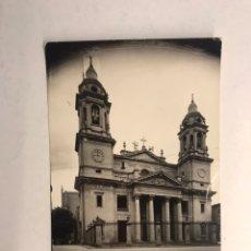 Postales: PAMPLONA. POSTAL NO.37, FACHADA DE LA CATEDRAL. EDITA: POSTALES VAQUERO. FOTO RUPEREZ (H.1960?). Lote 183959625