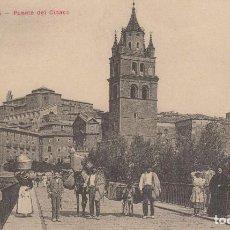Postales: CALAHORRA. PUENTE DEL CIDACO.. Lote 184594060