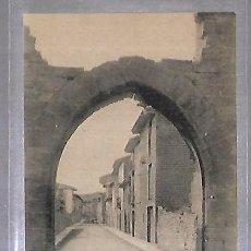 Postales: TARJETA POSTAL. SANGUESA. CALLE DE LA POBLACION.. Lote 184692888