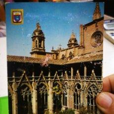 Postales: POSTAL PAMPLONA CLAUSTRO A ESTADO PEGADA,ESTADO MUY REGULAR. Lote 185920096