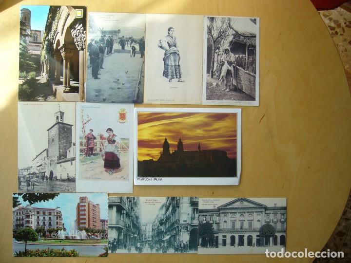LOTE 16 POSTALES DE NAVARRA (Postales - España - Navarra Moderna (desde 1.940))