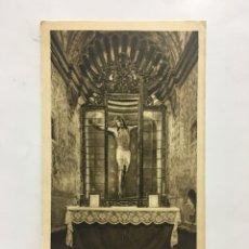 Postales: POSTAL. CRISTO DE JAVIER. CAPILLA DEL SANTO MILAGROSO. HUECOGRABADO ARTE. BILBAO. H. 1936?.. Lote 187438030