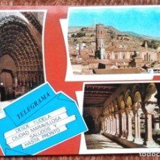 Cartes Postales: TUDELA - TELEGRAMA DESDE TUDELA. Lote 189073182