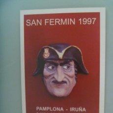 Cartes Postales: POSTAL DE RADIOAFICIONADOS DE NAVARRA : SAN FERMIN 1997 , PAMPLONA. Lote 189298472