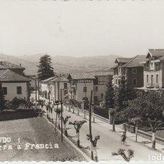 Postales: ELIZONDO. CARRETERA A FRANCIA. Lote 190026616