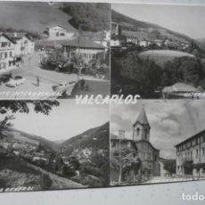 Postales: POSTAL VALCARLOS -VARIOS ASPECTOS CM. Lote 190027236