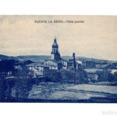 Postales: PUENTE DE LA REINA.(NAVARRA).- VISTA PARCIAL.. Lote 190294908