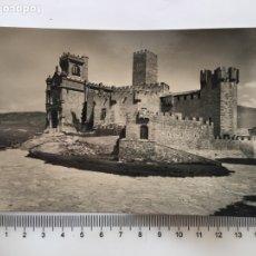 Postales: POSTAL. CASTILLO DE JAVIER. VISTA DEL CASTILLO Y BASÍLICA. NAVARRA. EDIC. MONTAÑÉS. H. 1960?.. Lote 190331682