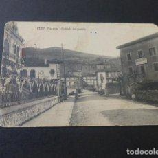Postales: VERA DE BIDASOA NAVARRA ENTRADA DEL PUEBLO. Lote 190356221