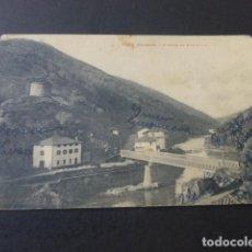 Postales: VERA DE BIDASOA NAVARRA PUENTE DE ENDARLAZA. Lote 190356495