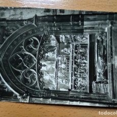 Postales: TUDELA, NAVARRA - CATEDRAL. SEPULCRO DE MOSEN FRANCES DE VILLAESPESA. 14. SICILIA. Lote 190609797
