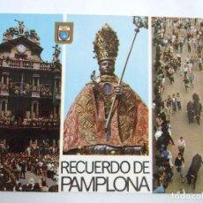 Postales: POSTAL PAMPLONA - FIESTAS DE SAN FERMIN - 1972 - DOMINGUEZ 44 - SIN CIRCULAR. Lote 191200486