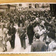 Postales: ANTIGUA FOTOGRAFIA . SAN FERMIN PAMPLONA - AÑO 1948 13 / 8CM SAN FERMINES. Lote 191355215