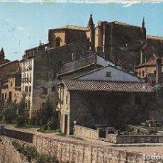 Postales: == B1409 - POSTAL - PAMPLONA - CATEDRAL Y BARBAZANA . Lote 191496123