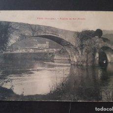 Postales: VERA DE BIDASOA NAVARRA PUENTE DE SAN MIGUEL. Lote 191602991