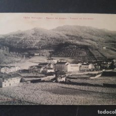 Postales: VERA DE BIDASOA NAVARRA BARRIO DE ALZATE TOMADA DE CASVERNA. Lote 191603106