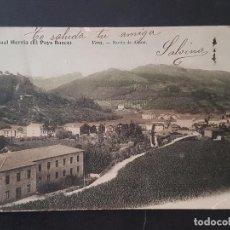 Postales: VERA DE BIDASOA NAVARRA BARRIO DE ALZATE REVERSO SIN DIVIDIR. Lote 191603343