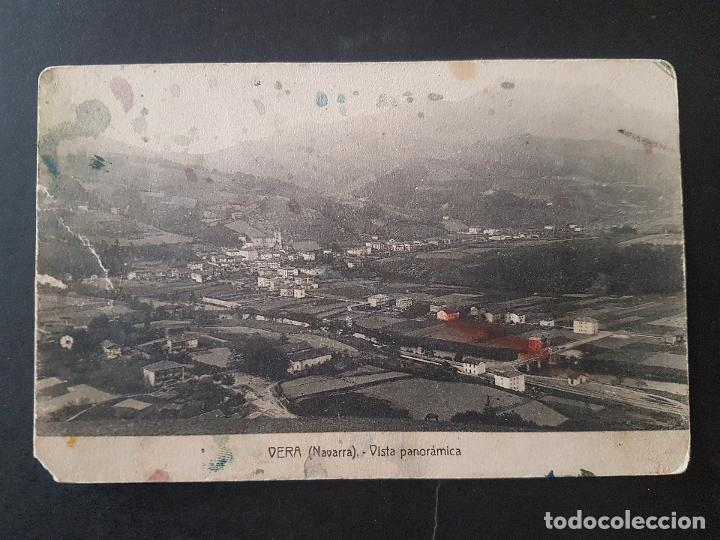 VERA DE BIDASOA NAVARRA VISTA PANORAMICA (Postales - España - Navarra Antigua (hasta 1.939))