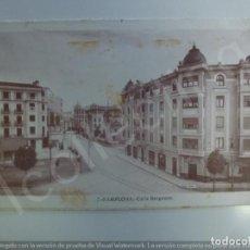 Postales: POSTAL. PAMPLONA. CALLE BERGAMÍN. ESCRITA. . Lote 191770187