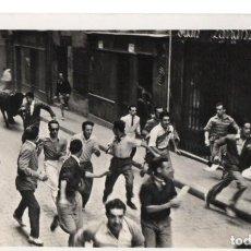 Postales: POSTAL DE PAMPLONA - ENCIERRO DE LOS TOROS . Lote 191772988