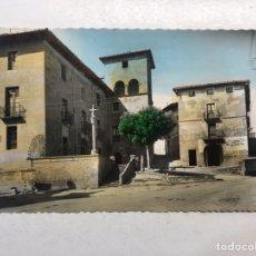 Postales: TAFALLA (NAVARRA) POSTAL COLOREADA NO.7, PALACIO DEL CONDE DE GUENDULAIN. EDITA: GARCIA GARRABELLA. Lote 191936537