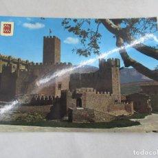 Postales: CASTILLO DE JAVIER - CIRCULADA. Lote 192338906