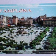 Postais: POSTAL 29 PAMPLONA PLAZA DEL CASTILLO ED ARRIBAS. Lote 193083497