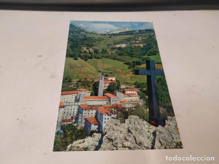 NAVARRA - POSTAL ARANZAZU - VISTA PANORÁMICA (Postales - España - Navarra Moderna (desde 1.940))