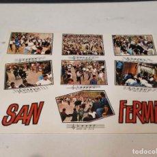 Cartes Postales: NAVARRA - POSTAL PAMPLONA - EL ENCIERRO DE LOS TOROS. Lote 193609693