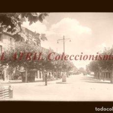 Postales: TAFALLA - CLICHE ORIGINAL - NEGATIVO EN CRISTAL - EDICIONES ARRIBAS. Lote 193620805
