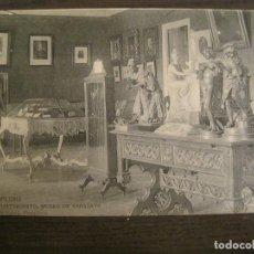 Postales: PAMPLONA-AYUNTAMIENTO-MUSEO SARASATE-HAUSER Y MENET-POSTAL ANTIGUA-(67.487). Lote 193747931