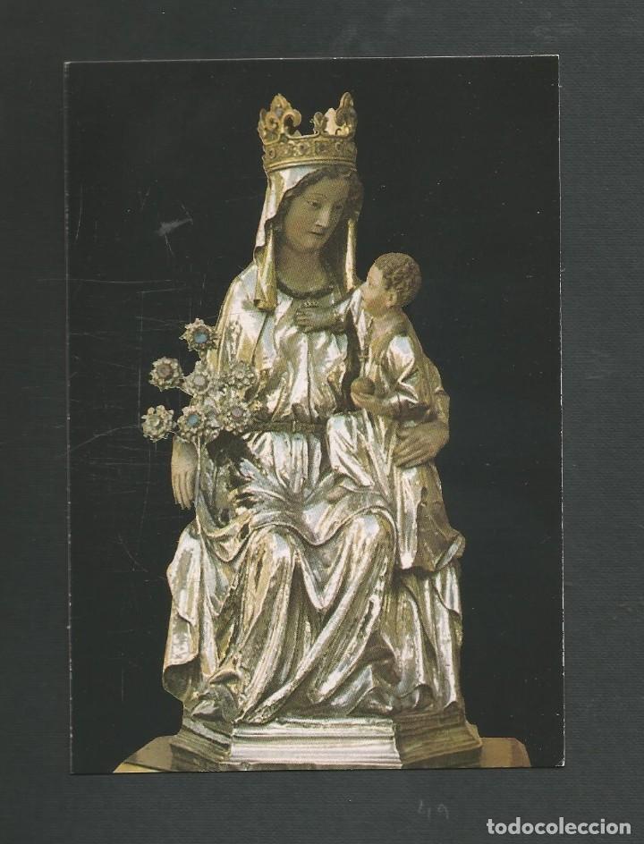 POSTAL SIN CIRCULAR - IMAGEN DE NTRA SRA 21 - RONCESVALLES - NAVARRA - EDITA EDIMUND (Postales - España - Navarra Moderna (desde 1.940))