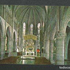 Postales: POSTAL SIN CIRCULAR - RONCESVALLES 2 - NAVARRA - INTERIOR DE LA IGLESIA - EDITA SICILIA. Lote 193953106