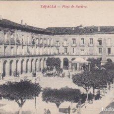 Postales: TAFALLA (NAVARRA) - PLAZA DE NAVARRA. Lote 194167807