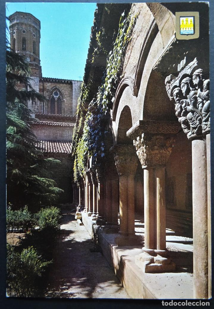 TUDELA (NAVARRA) CLAUSTRO DE LA CATEDRAL, POSTAL SIN CIRCULAR (Postales - España - Navarra Moderna (desde 1.940))