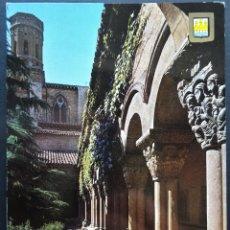 Postales: TUDELA (NAVARRA) CLAUSTRO DE LA CATEDRAL, POSTAL SIN CIRCULAR . Lote 194215338