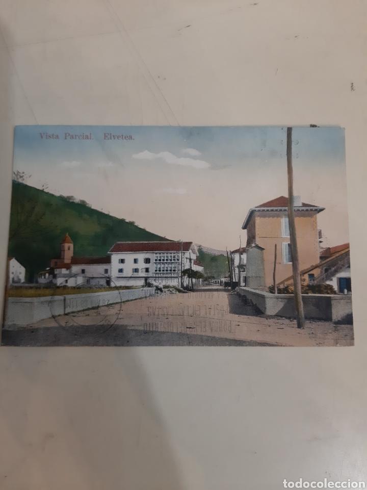 1968 ELVETEA NAVARRA VISTA PARCIAL (Postales - España - Navarra Antigua (hasta 1.939))