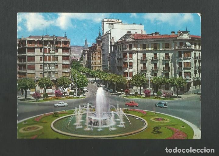 POSTAL SIN CIRCULAR - PAMPLONA 11 - PLAZA DEL PRINCIPE DE VIANA - EDITA GARCIA GARRABELLA (Postales - España - Navarra Moderna (desde 1.940))
